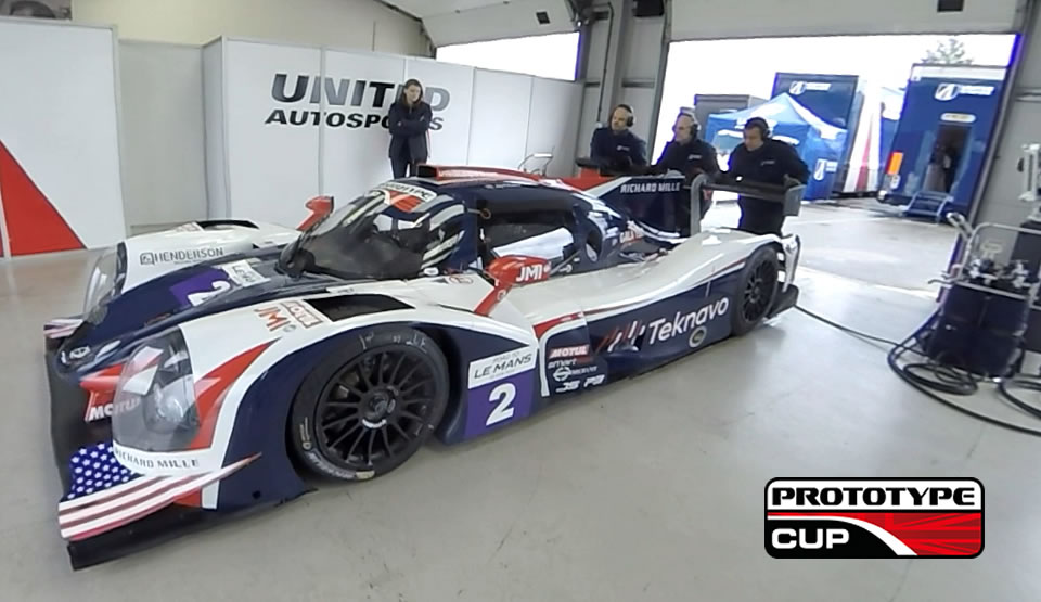 Pictured: The Prototype Cup   Le Mans Prototype Racing Series Promo