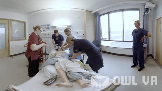 Medical Training using Virtual Reality