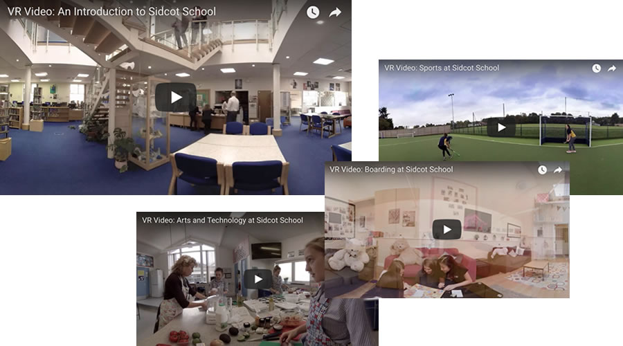 School and University Prospectus 360˚ VR Video 1